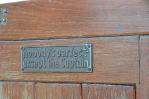 Skipper Dick besteht allerdings nicht darauf.